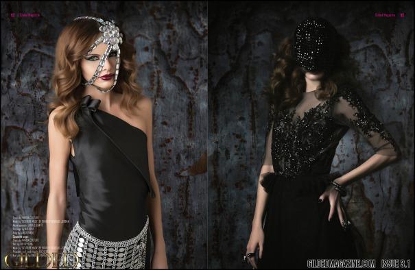 miu vermillion dark fashion editorial photography