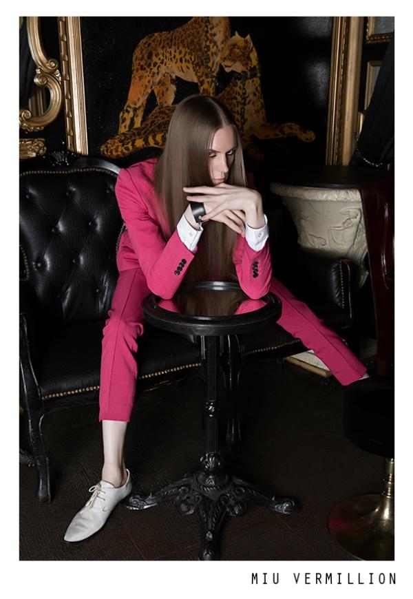 Miu Vermillion for Aether Magazine Issue 7 - Fashion Editorial