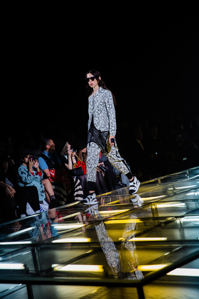 Tokyo Fashion Week SS 2016 - Onitsuka Tiger x Andrea Pompilio - Photographed by Miu Vermillion