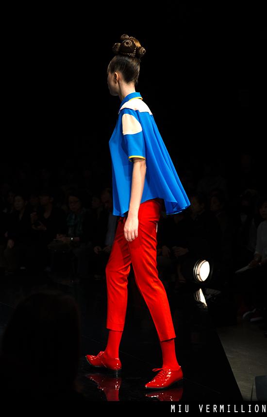 Hiromichi Nakano SS 2016 - Tokyo Fashion Week - photographed by miu vermillion
