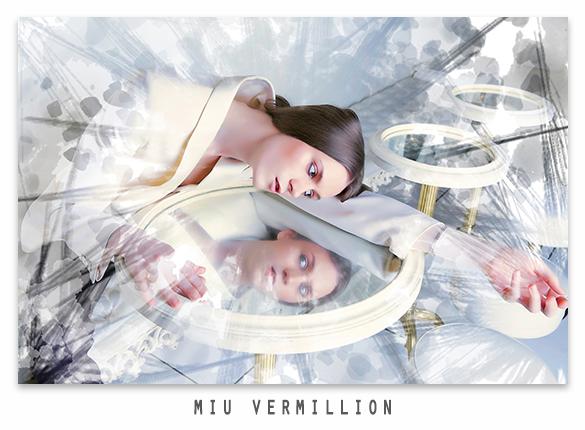 miu vermillion photo remix - custom photoshop brushes created using Adobe Capture