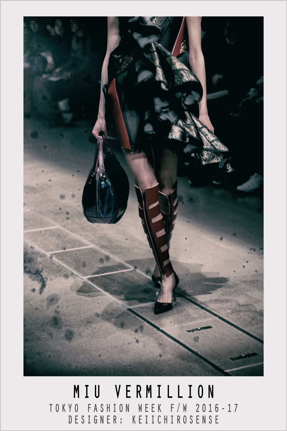 Miu Vermillion - Experimental Photography - Tokyo Fashion Week FW 2016-17 - Keiichirosense