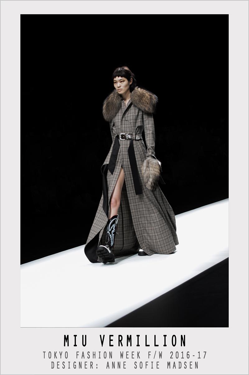 Anne Sofie Madsen | FW 2016-17 | Tokyo Fashion Week | photographer: Miu Vermillion