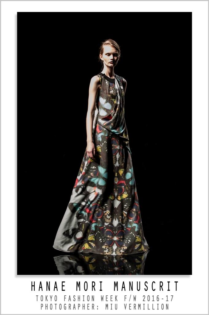 Hanae Mori Manuscrit | FW 2016-17 | Tokyo Fashion Week | photographer: Miu Vermillion