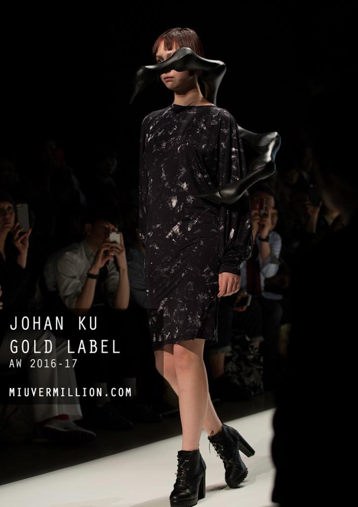 Johan Ku Gold Label| FW 2016-17 | Tokyo Fashion Week | photographer: Miu Vermillion