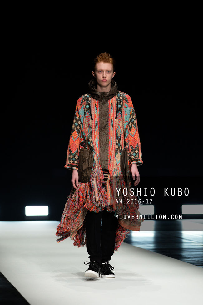 Yoshio Kubo | FW 2016-17 | Tokyo Fashion Week | photographer: Miu Vermillion