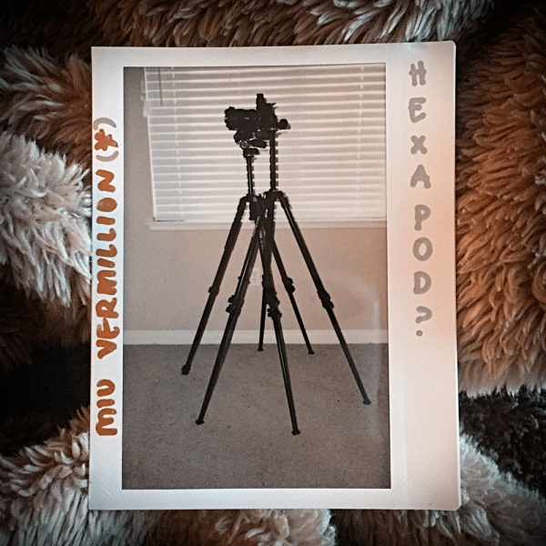 Miu Vermillion | Photography Blog - Drooping Tripod Problem