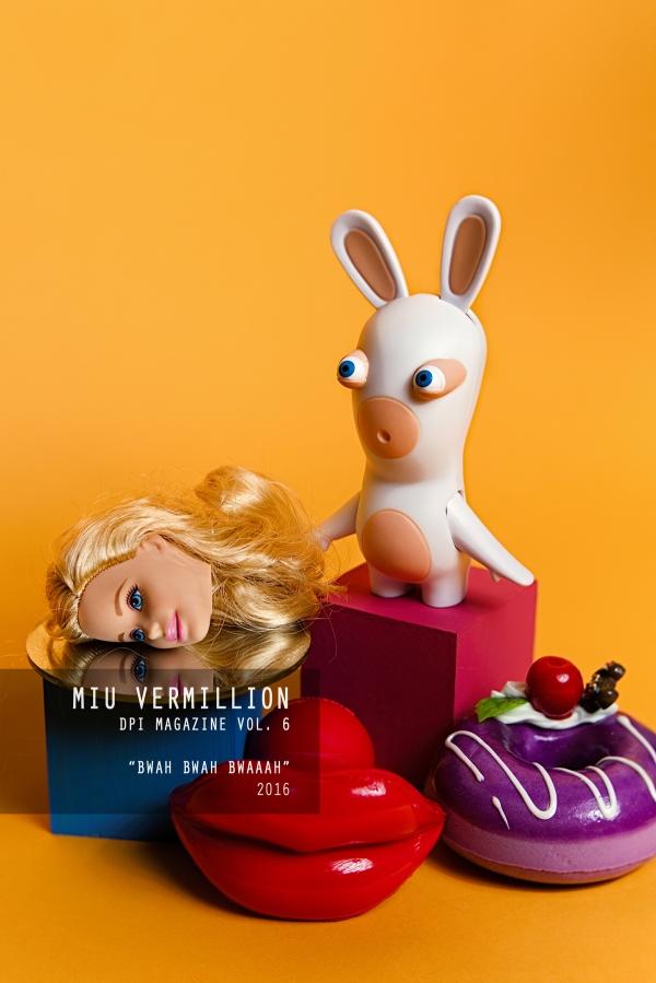 Miu Vermillion   Art   Still Life Photography - Bwah Bwah Bwaah