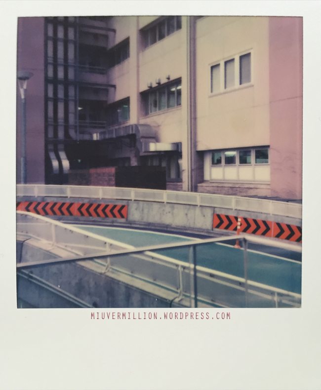 Impossible Project I-1 Camera + 600 film | via miu vermillion photography blog