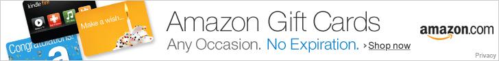 gift certificates amazon