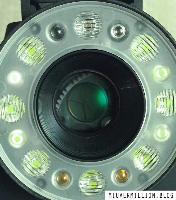 A closeup of Impossible I-1 Camera's Lens - via miu vermillion photography blog