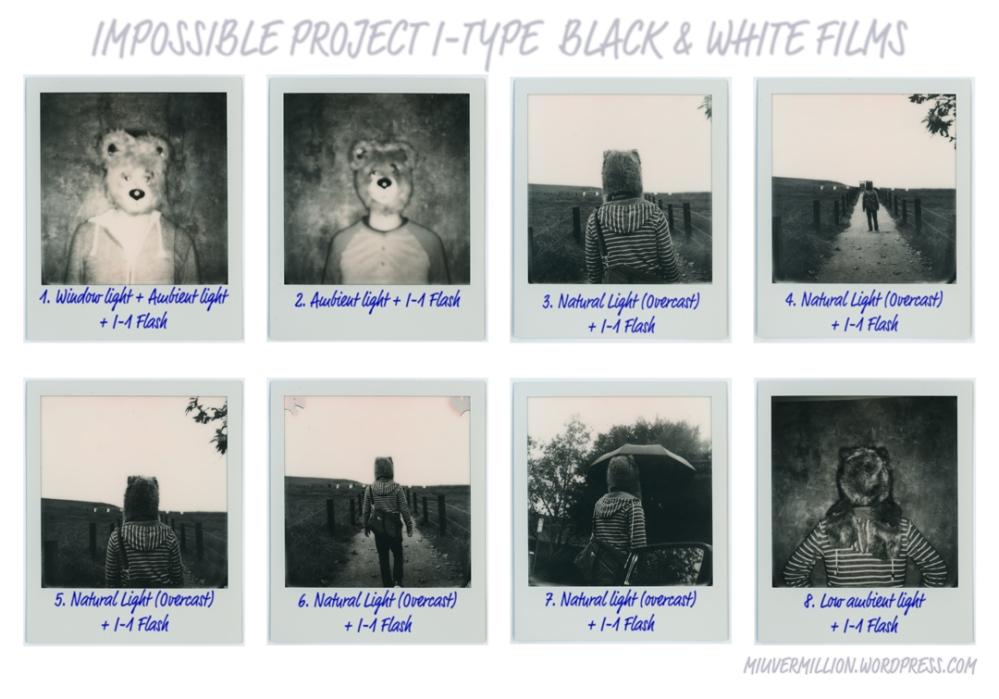 Impossible I-Type Films - via miu vermillion photography blog