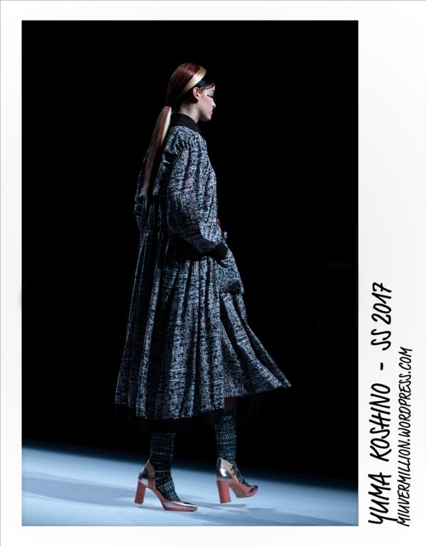 Yuma Koshino - SS 2017 - Amazon Fashion Week Tokyo | Photographed by Miu Vermillion