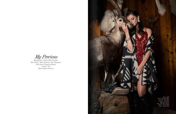 Fashion Editorial: 'My Precious' by Miu Vermillion for Elegant Magazine