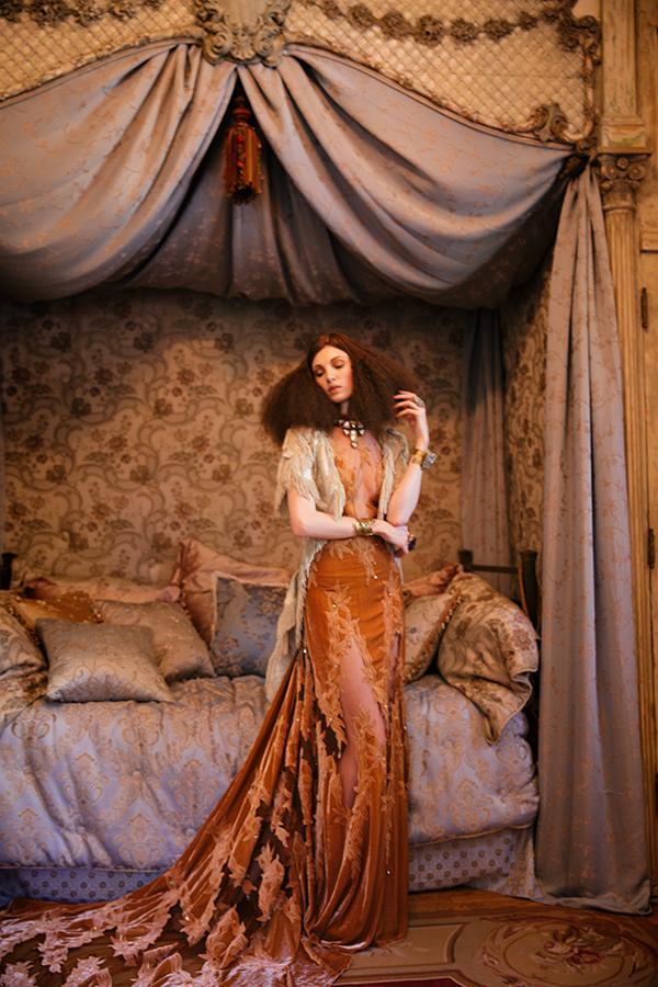 Annabelle Lyttle - Painterly Portrait Photography by Miu Vermillion