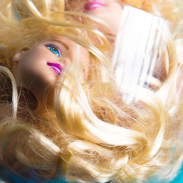Miu Vermillion Lowbrow Art Photography - Barbie Ball