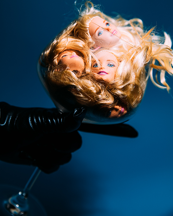 Miu Vermillion Lowbrow Art Photography + Barbie Wine