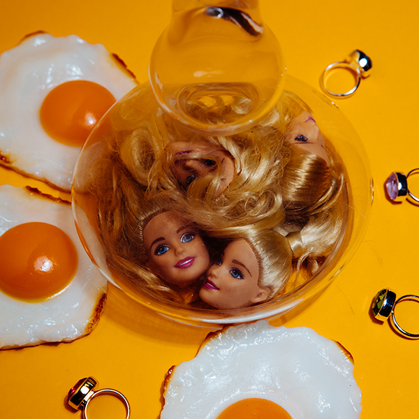 Miu Vermillion Lowbrow Art Photography + Biological Clock, Put a Ring on It